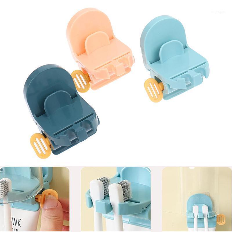 Комплект для ванной комнаты для ванной комнаты зубной пасты трубки сжимания прокатный дозатор зубной пасты держатель украшения аксессуары наборы1