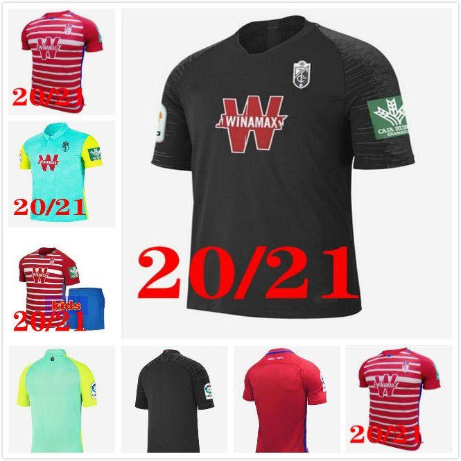 2020 2021 Granada Soccer Jersey 20 21 Soldado Fernandez Machis Puertas F.Vico Camisa de Futebol Azeez Herrera Vadillo Etaki Sanchez Uniforme