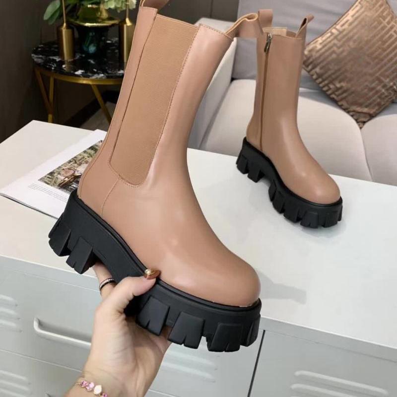 Moda Marka Çizmeler Hakiki Deri Boot Kadınlar Fermuar Kış Bootis Seksi Tasarımcı Kadın Bootes En Kaliteli