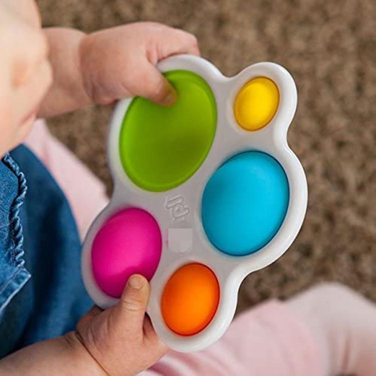 Новые Детские Животные Игрушки Мозговые Игрушки Изящные Моторные Навыки Поезд FIDGET Простые Dimple Игрушки Ранние Образовательные Игрушки Для Детского Подарок Простой Дмоп