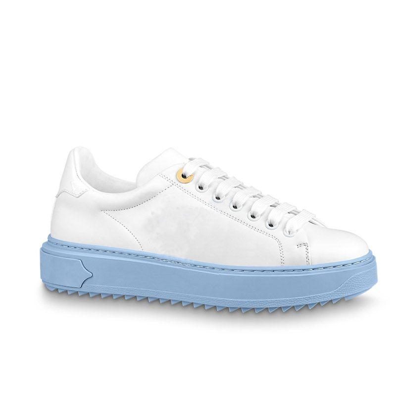 Sapatos de couro genuíno Mulher Tempo para fora Sneakers Mais Recentes mulheres de luxo sapato tamanho 35-41 modelo hy11