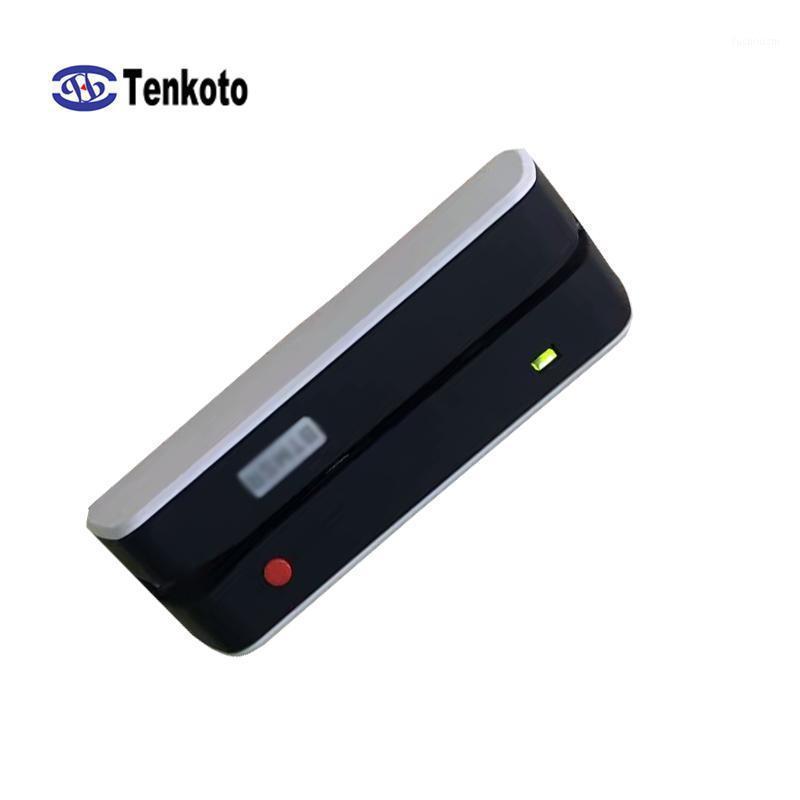 Magnetik Şerit için Bluetooth Okuma Yazma Makinesi USB POS Kablosuz Manyetik Yazar Bluetooth Erişim Kontrolü Encode