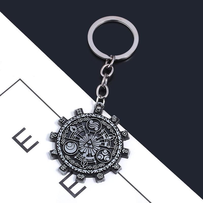 Игра Zelda брелок Урожай Часы Металл брелоки для подарков Chaveiro автомобилей Брелка ювелирного Keyholder Подарков