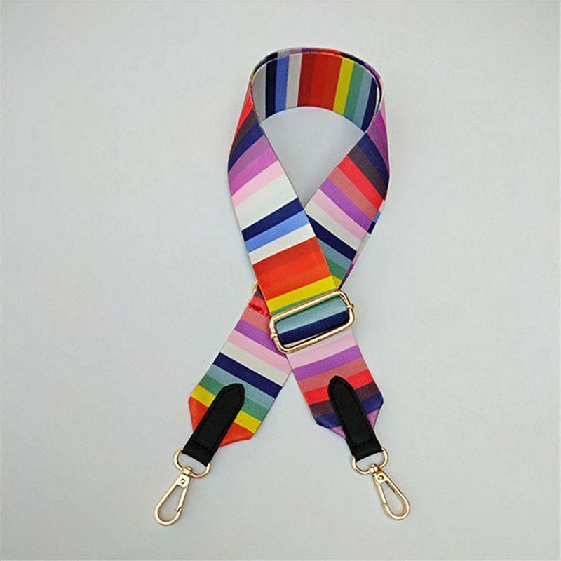 Сумка ремешок для женщин DIY вешалка цветные ремень сумка аксессуары ремешка регулируемая сумка декоративные подарки