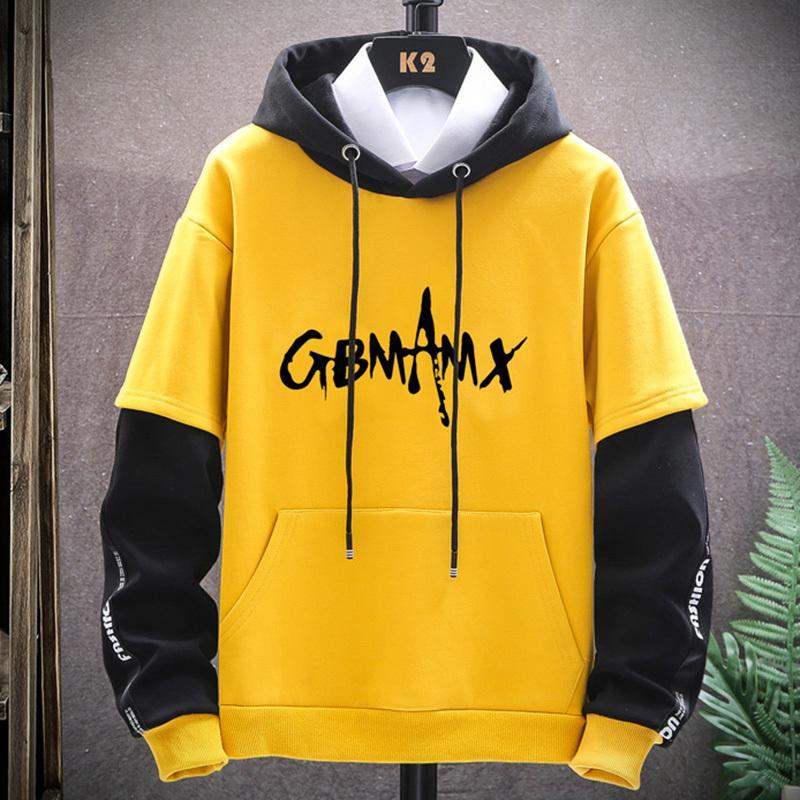 Hoodies homens 2020 Mens Hip Streetwear Tamanho Casual Pullover Roupas Novo 3xl Harajuku Suéter Moda Hop WWVXP