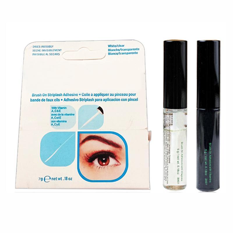Ankunft Wimperklebstoffe Eime Wimpernkleber Pinsel-On-Klebstoffe Vitamine weiß / klar / schwarz / 5g Neues Verpackungs-Make-up-Tool DHL-Shop