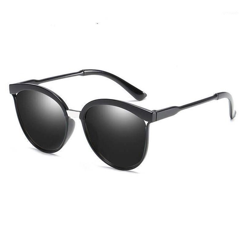Vintage weibliche Nette Katze Eye Sonnenbrille Frauen Männer Marke Designer Sonnenbrille Retro Goggles Cateye Sunbrass1