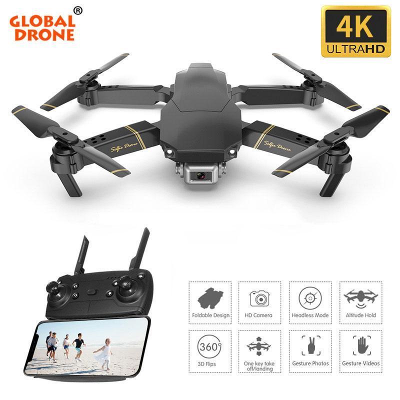 4K Drone EXA Selfie Dron con cámara HD Helicóptero RC FPV Drones Dropship Piedrossal Quadrocopter vs SG106 SG700 E58 E520