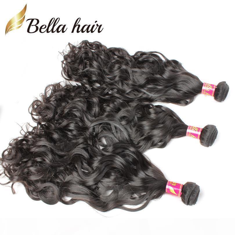 Белла волосы? 8А Новые продукты волос 3шт много Бразильское естественная волна человеческих волос 8 ~ 30inch Индийский малазийский перуанский Наращивание волос Бесплатная доставка