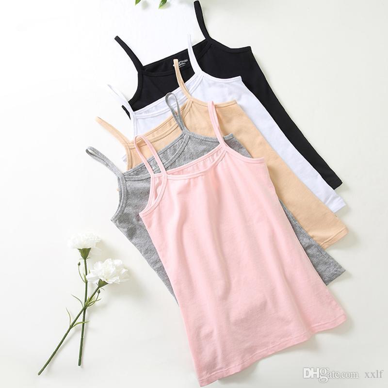 2020 Sexy Tops T-Shirt Frauen Casual Camisole Tanks Baumwollunterhemd Atmungsaktive Tank Plus Größe Unterwäsche Singlet