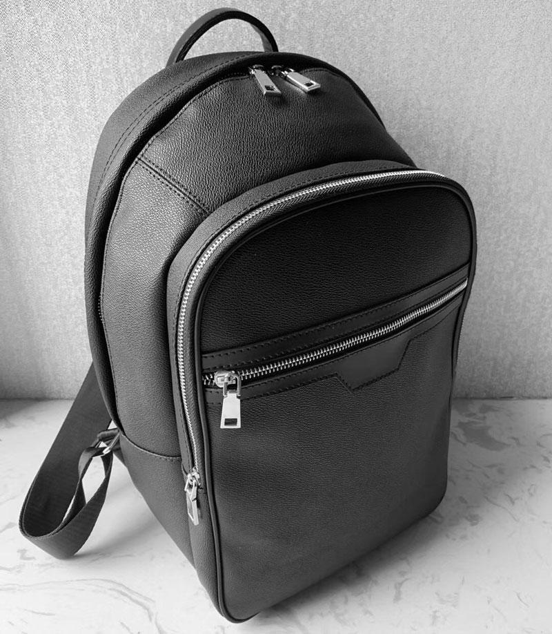 5 Farbe Top Qualität Rucksack Marke Designer Carry auf Rucksack Herren Mode Schultaschen Luxus Reisetasche, Schwarze Duffelbeutel