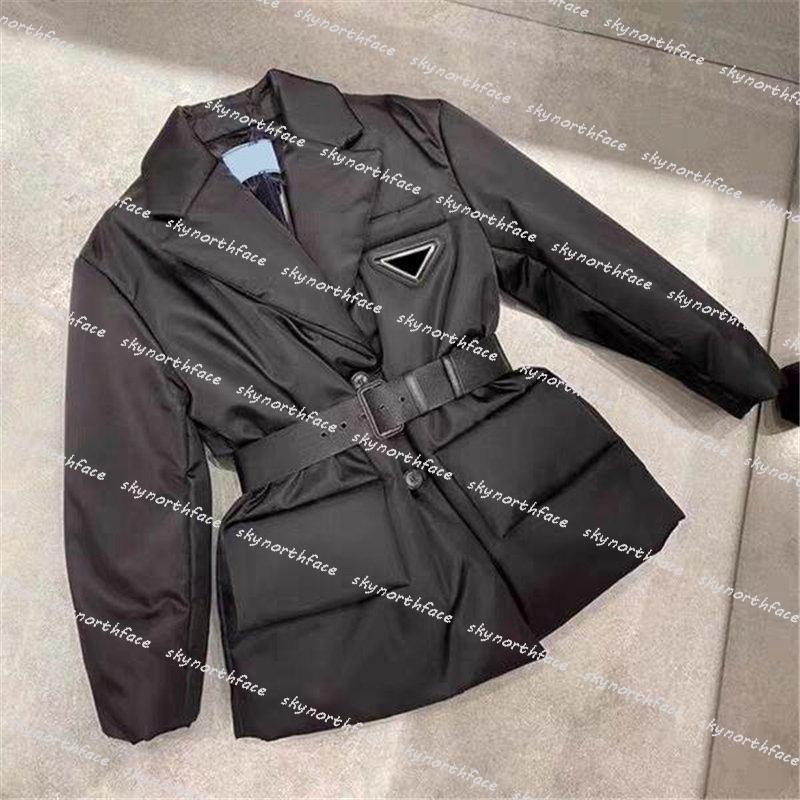 Donners Designer Abbigliamento 2020 Cappotti invernali con designer a vita regolabile Donnes Down Giacca invernale Cappotto Abbigliamento da donna Abbigliamento giù Parks