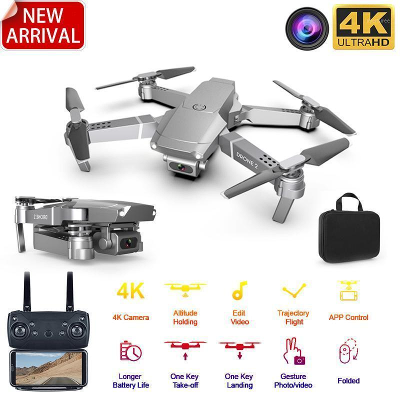 NEW MINI DRONEEE68 WiFi FPV Мини Дрон с широким углом HD 4K 1080P Camera Hamight Mode HOLD RC Складной Quadcopter Dron Gift1