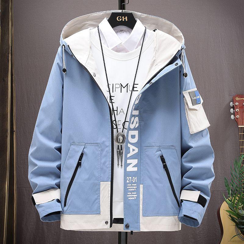 Herbst 2021 New Hooded Casual Jacket Männer Outwear Herren Männliche Windjacke Mäntel Mode Winter Versand Jacken Drop Streetwear Delh
