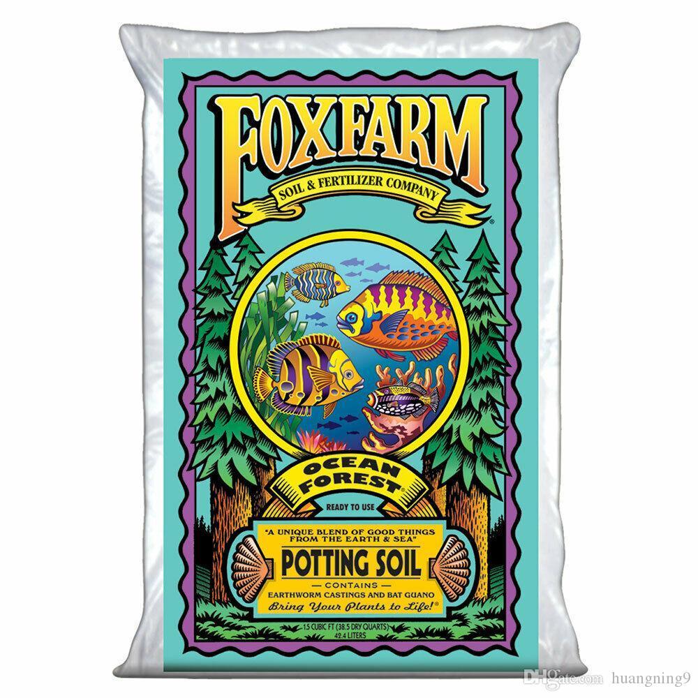 FOXFARM FX14000 Ocean Forest Plant Placeur de jardin Sol Mélanger 1,5 Cu FT, 40 livres