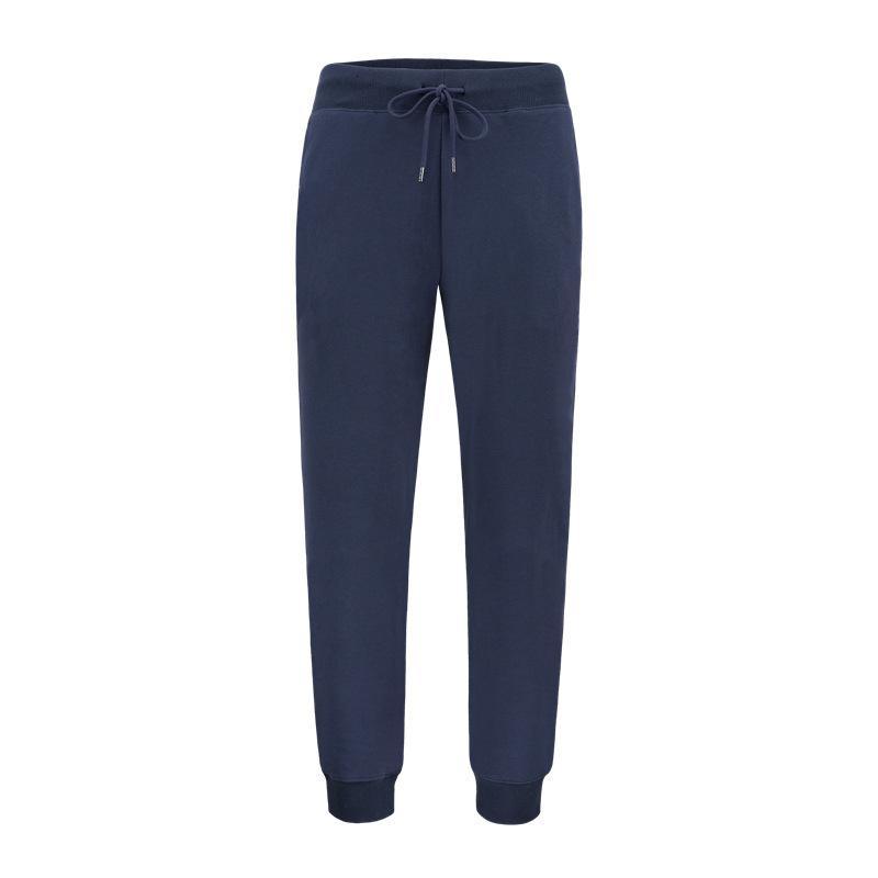 Мужские спортивные брюки лето новый стиль закрытия штаны Casual Свободный Вязаная Хлопок Trendy дышащий Маленькие ноги корсета Длинные брюки