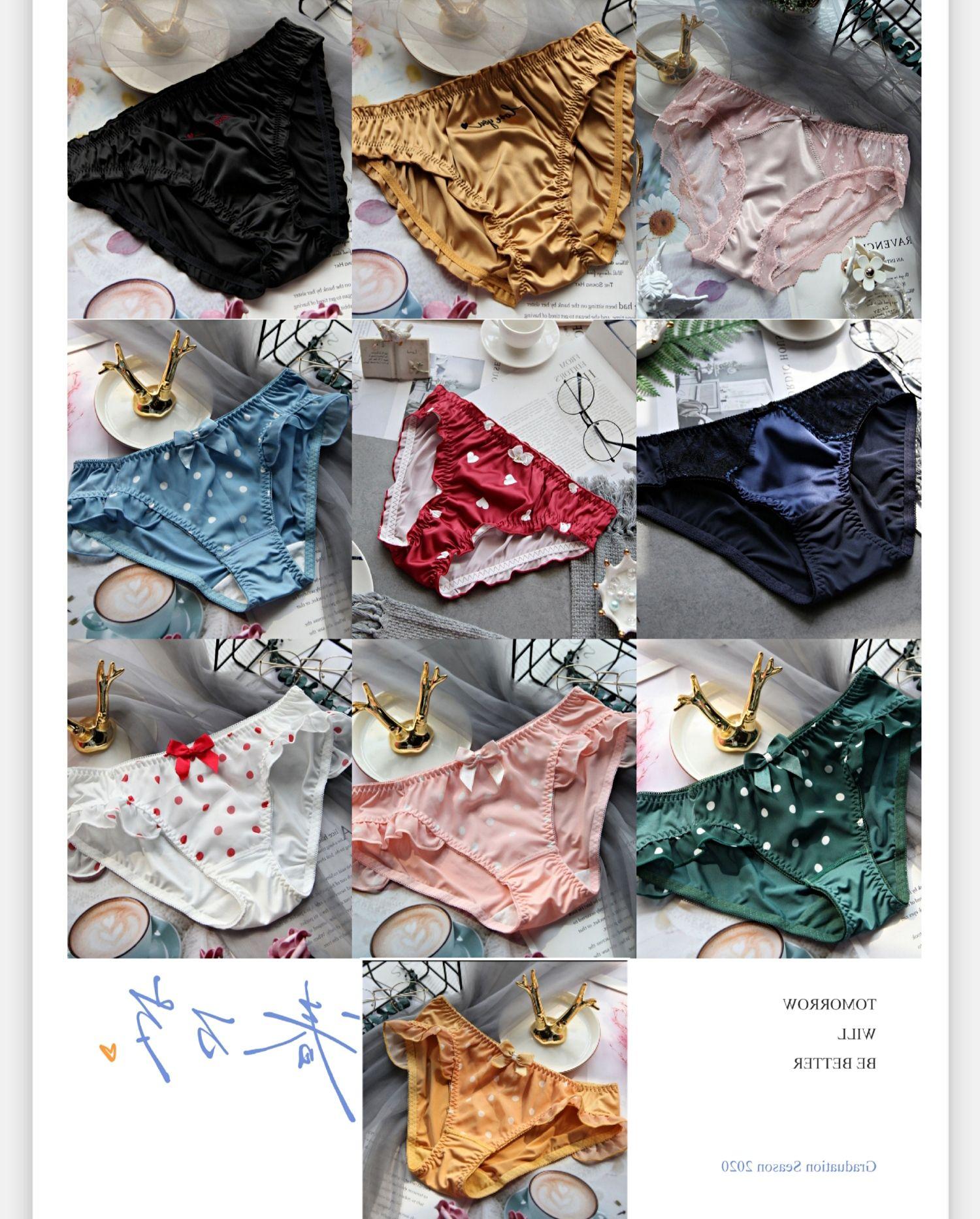 10 조각 DE 최신 새로운 디자인 편안한 여성 속옷 스타일 아름다운 속옷 섹시한 팬티 플러스 사이즈 여성 팬티