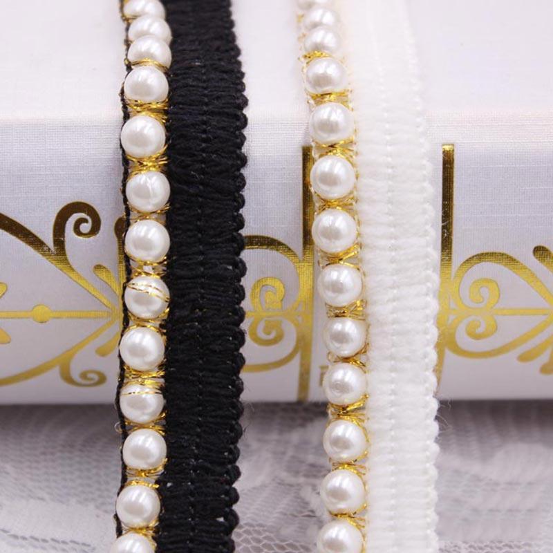 10yards diy acessórios pérola lace fita borla tassel algodão tassels aparar franjas para costura cama roupa roupas cortina decoração h jllkoe