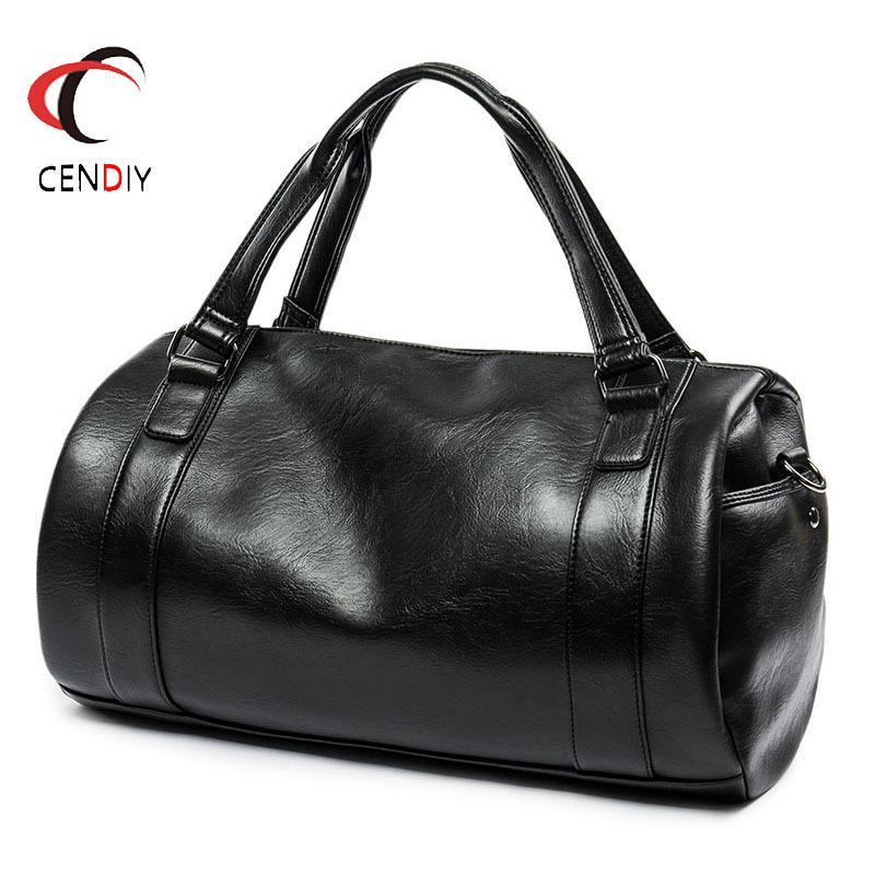 HBPMen's Briefcase Fashion Large Capacity Business Black Shoulder Laptop Bag Handle Simple Design Brand Male Handbags Q0112