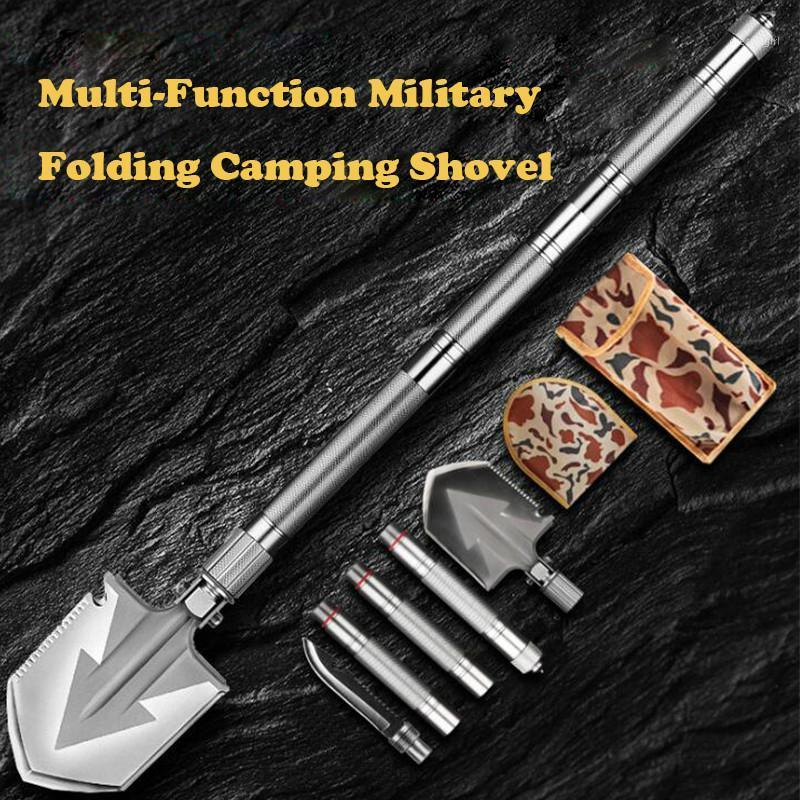 Max Length 92cm Shovel High-carbon Steel Shovel Outdoor Tactical Multifunctional Folding Camping Equipment Survival Tool1