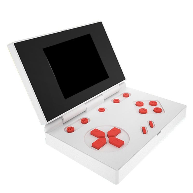 El Kapaklı Oyun Konsolu RS-96 Mağaza 1000 Oyunlar Taşınabilir Mini Oyun Kutusu 3.0 inç LCD Renkli TV Video Oyun Oyuncu FC NES RK 96