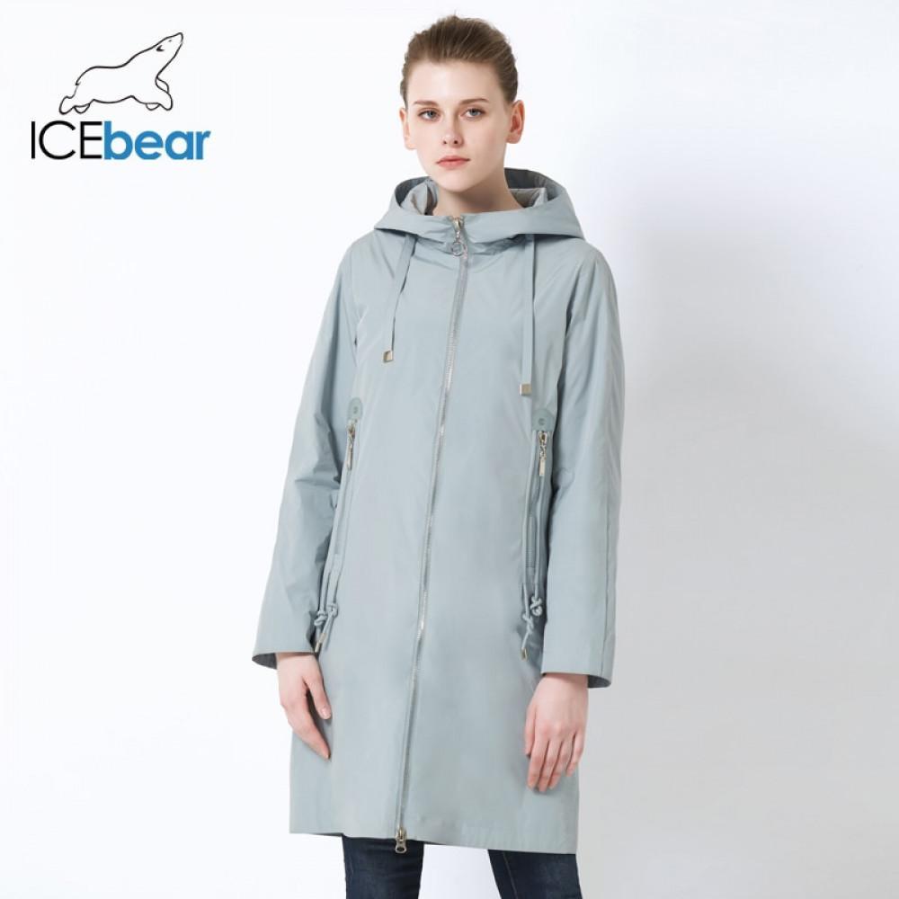 Buzbear Yeni Kapüşonlu Kadın Ceket Yüksek Kalite Uzun Bayanlar Ceket Büyük Cep Tasarım Bayanlar Ceket Marka Kadın GWC19085i 201027