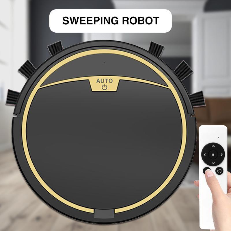 Aspirateur de robot de 2800Pa avec télécommande Sweepwet Sweepwet FLOPPING SANSFLOPETS Lavage du robot Aspirateur de robot USB Chargement 2021