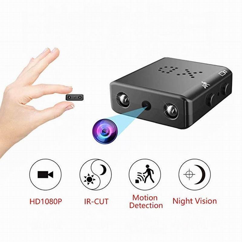 XD Mini Kamera Full HD 1080 P Ev Güvenlik Kamera Gece Görüş Mikro Cam Hareket Algılama Video Ses Kaydedici