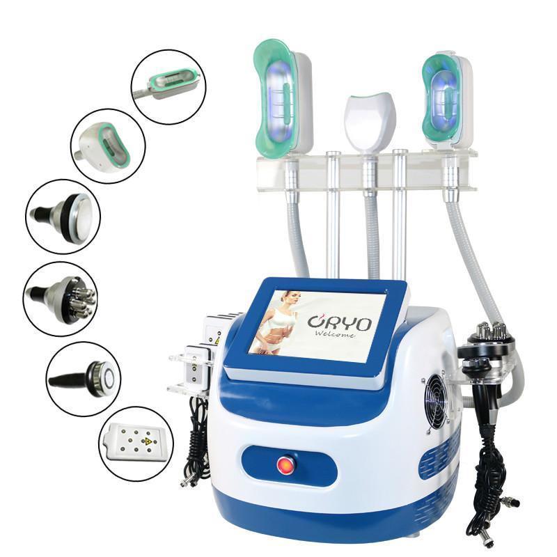 2020 Máquina de congelación de grasas multifunción Máquina de la grasa doble de la barbilla 360 Cryolipolysis Freeze Freeze Abdomen Belly Slimming Machine