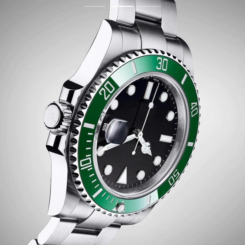 2021 Новые Мужские Мужские SPROT Часы Часы без бессмысленного Сталь Механические Автоматические наручные часы
