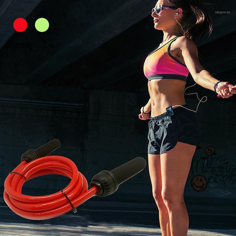 Corde de sauts pondérés professionnels réglable Fil d'acier de corde à sauter pour la gravité de gymnastique pour la salle de sport Fitness Sport1