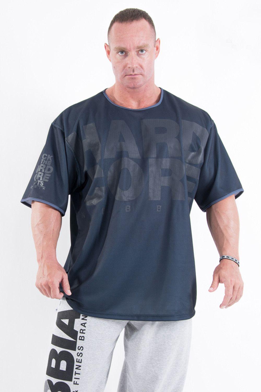 Moda Yeni Erkekler Spor Kısa Kollu T Gömlek Vücut Geliştirme Egzersiz Rahat Tee Gömlek Üstleri X1214