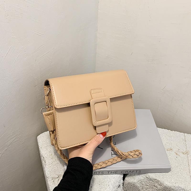 Cross Body Vintage Weibliche Tasche 2021 Schulter Messenger Bags Damen PU Luxus Designer SAC-Geldbörse Handy Bolsos Mujer