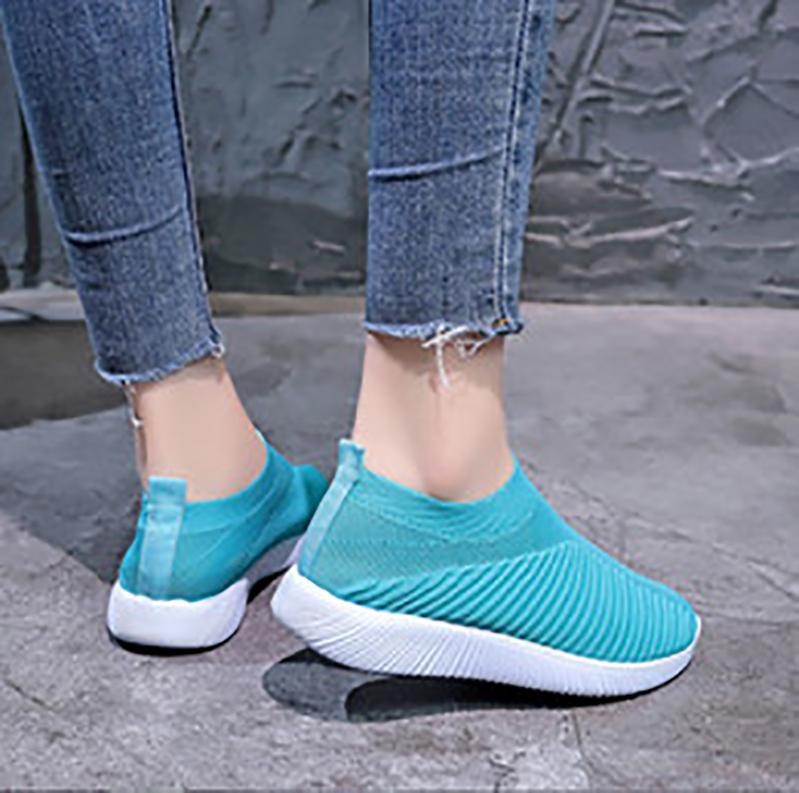 جورب أحذية النساء عارضة الأحذية المدرب جودة عالية أحذية رياضية المدرب جورب سباق العدائين الأحذية السوداء الأحذية في الهواء الطلق