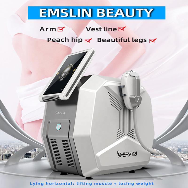 Emslim Beauty Machine Fast minceur Forme du corps Scomptant Haute intensité Électromagnétique Focalisée Tesla Sculpt Cellulite Dispositif de clinique
