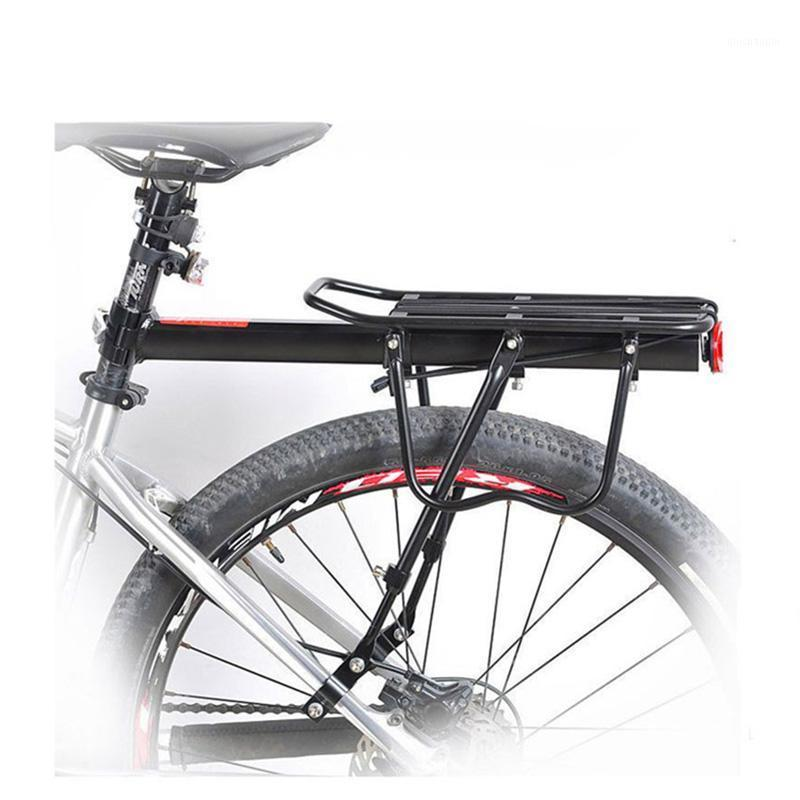 Bicicleta Carga Cremalheira Bicicleta Prateleira Rastrear Relaxamento Rápido Transportadora Bagagem Ciclismo Saco de Ciclismo Saco Suporte para 20-29 polegadas Bikes1