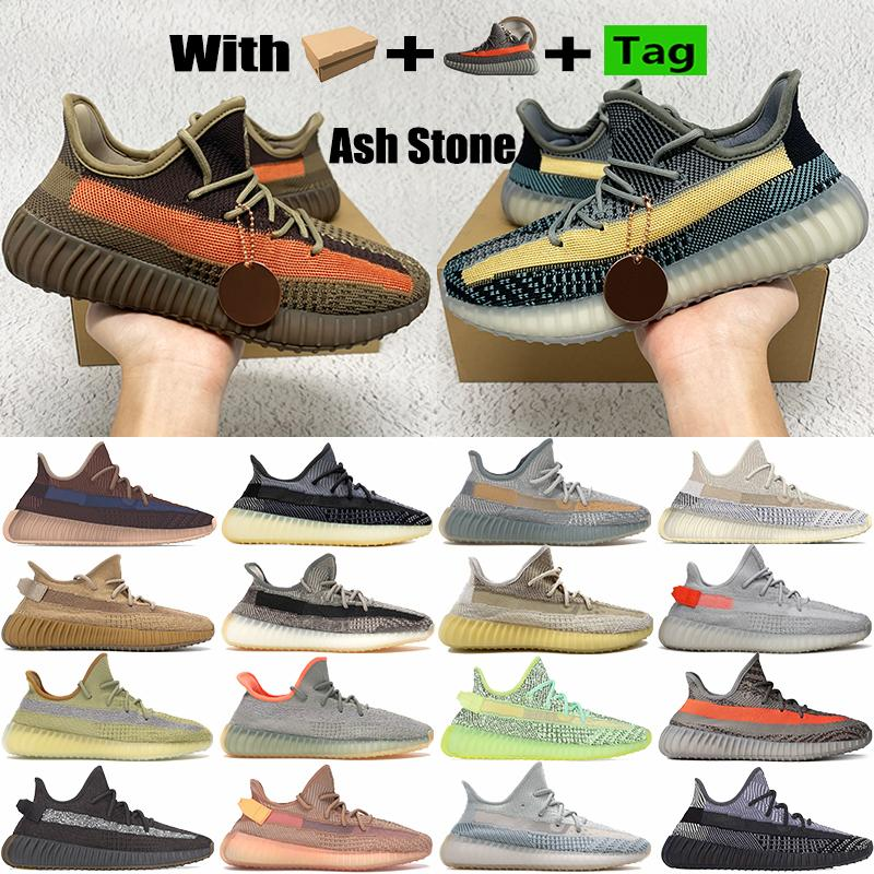 With Box Ash Stone blue pear v2 mens running shoes reflective Fade Carbon Natural cinder oreo israfil desert sage men women sneakers