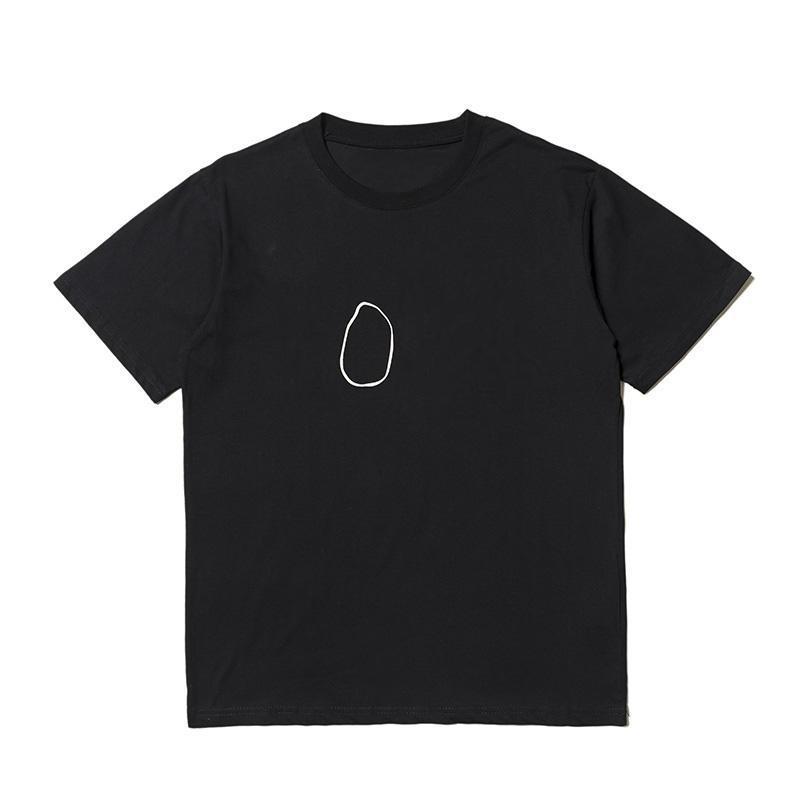 Erkek T Gömlek Stilist Erkek Casual Kısa Kollu Erkek Kadın Hip Hop T Gömlek Boyutu S-XL
