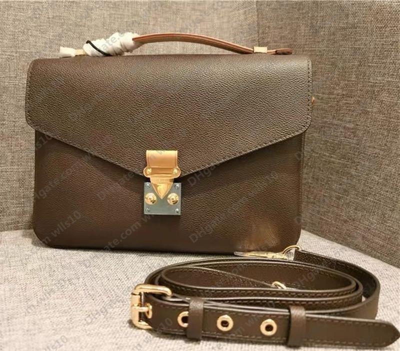 حقائب النساء المحافظ عالية الجودة المرأة حقيبة جلد طبيعي pochette metis حقائب الكتف حقيبة crossbody كود التسلسل M40780 LB83