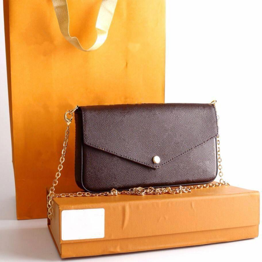 2020 più recenti borse di lusso di moda Borse a tracolla Designer Designer di alta qualità Borsa da marca Dimensione 21/11/2 cm Modello 61276