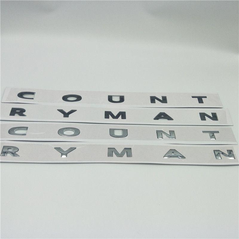 Per BMW Mini Countryman Clubman Cooper Cooper S Emblem Decalcomania Boot Boot Tronco Logo adesivi