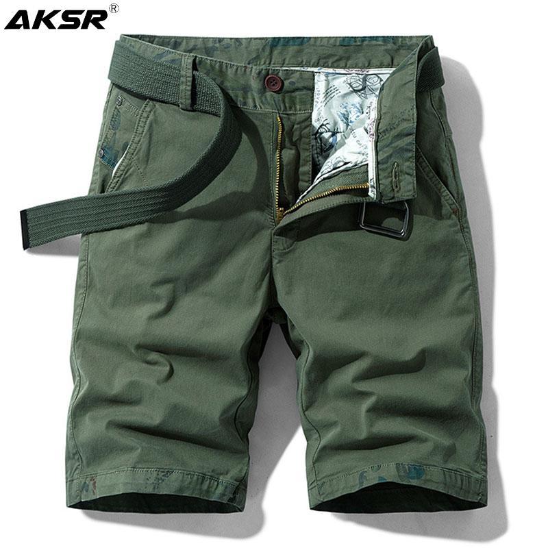 2020 мужские военные шорты грузов повседневные летние шорты мужчины плюс размер колена длина брюки мужчины летние шорты панталон Corto Hombre 1118