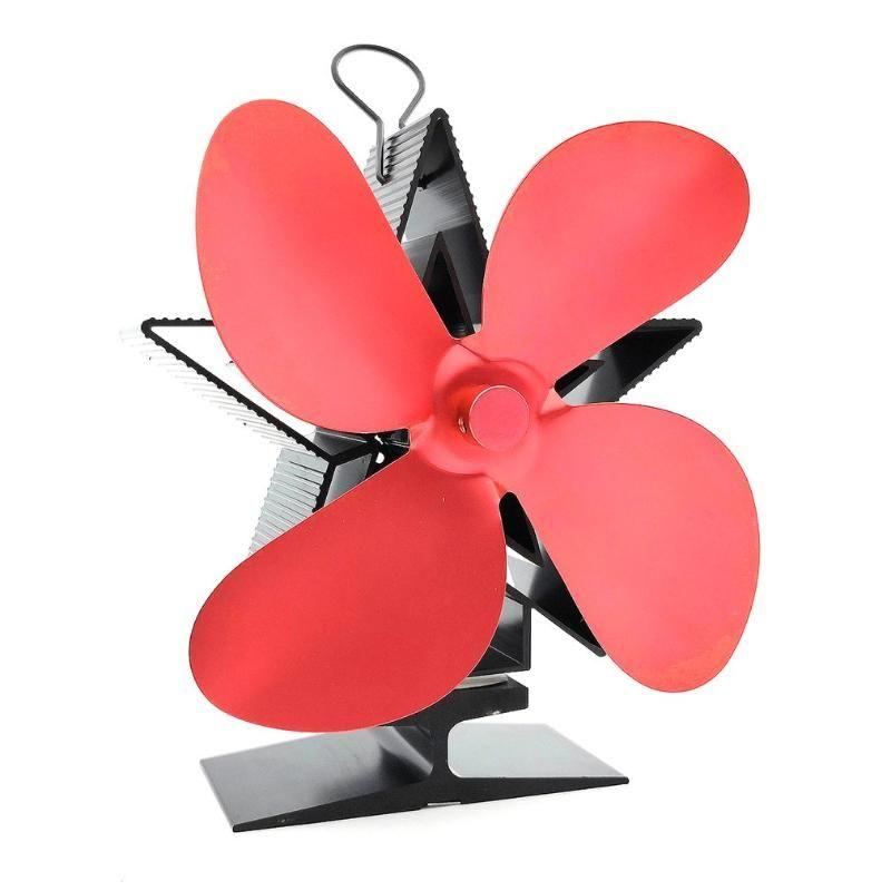 Éléments chauffants électriques intelligents Puissance thermique Cheminée Ventilée chauffante chauffante chauffante Bûcher Brûleur Ecofan Ventilateurs à quatre feuilles Répartition efficace