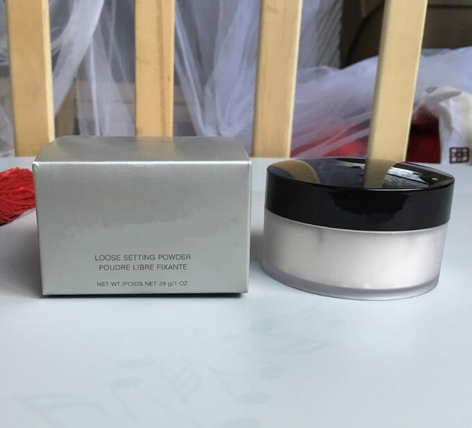 Nuovissima idratante Impostazione allentata Polvere traslucida 29 g / 1oz 3 colori Disponibile Drop Shipping Face Polvere Cosmetici