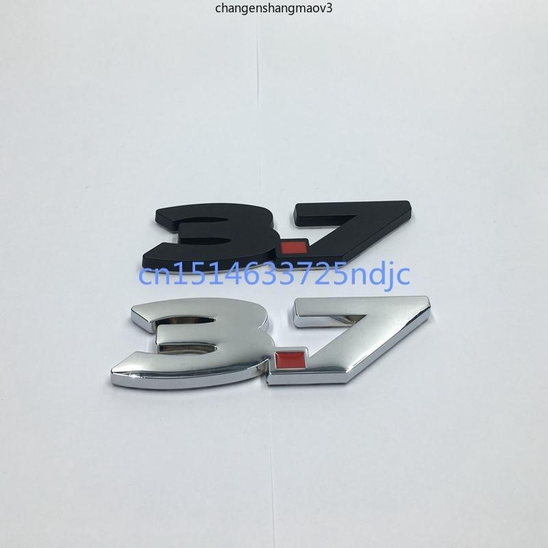 2011-2014 для Ford Mustang V6 3.7 3,7L литр черный красный крылью металлический наклейка эмблема