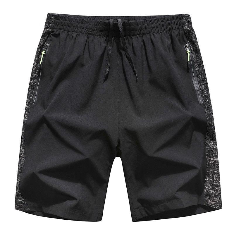 8XL одежда большая приятель быстрое сухое дыхание Rijpants Bermuda Man ZIP кармана плюс размер 6xL мужские летние шорты