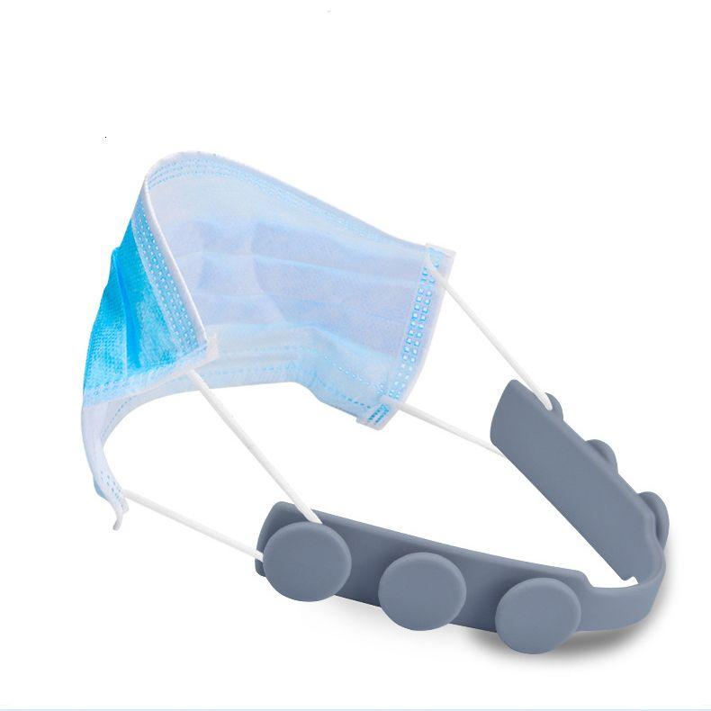 Ajustável Anti-Slip Máscara Orelha Grips Extensão Gancho Quatro engrenagem Máscara Hanging fivela para aliviar a dor de ouvido FY6102