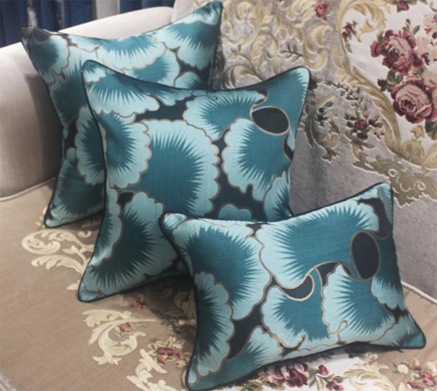 Мода пастырский декоративный бросок подушка / альмофадас чехол 30x42 45 40x60 50 60, серый кофе синяя подушка крышка дома украшения