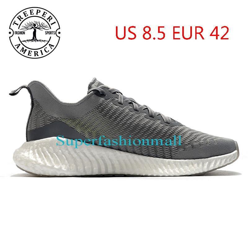 2021 TREEPERI runner 711 soft sole running shoes volf grey US 8.5 EUR 42 for men trainers