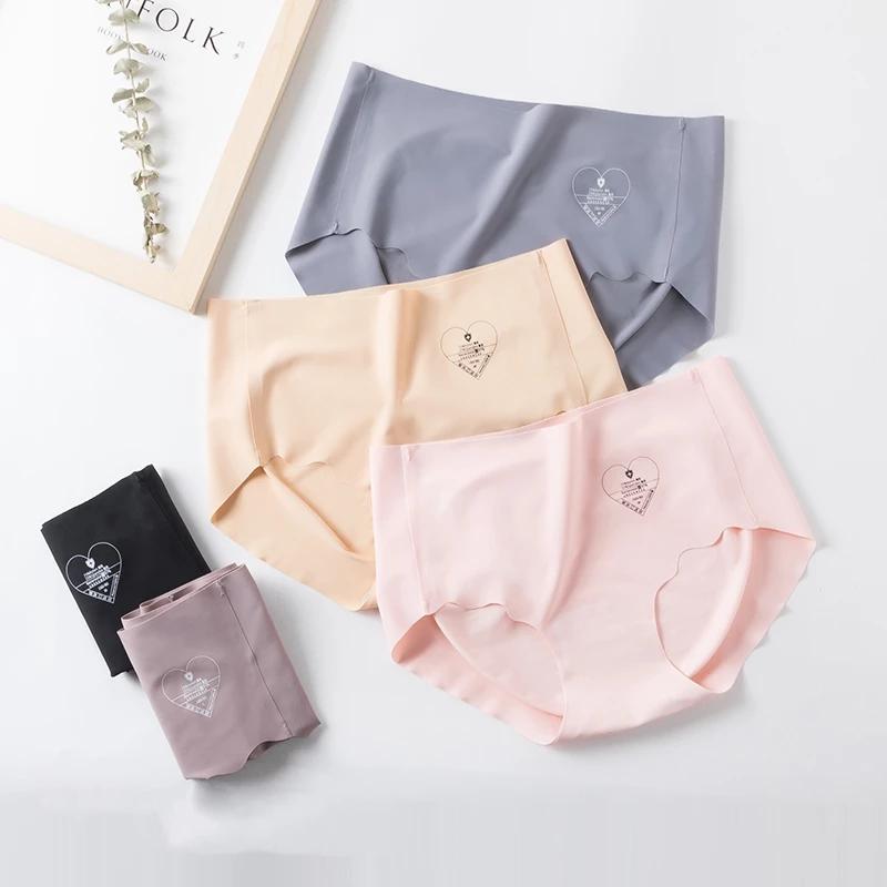 2020 Sous-vêtements sans couture pour femmes Sexy Stretching Streetwear pour féminin Nylon rapidement sec ultra-mince Tanga Culotte Slips